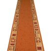 Carpet Runners UK Jena Terracotta Area Rug