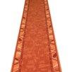 Carpet Runners UK Corrido Terracotta Area Rug