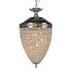 Y Decor Versailles 6 Light Crystal Chandelier