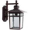 Y Decor Cullen 1 Light Outdoor Wall Lantern