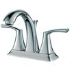 Y Decor Tayman Double Handle Bathroom Faucet with Drain Assembly