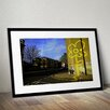 Pingo World 'Yellow Lines' by Banksy Framed Graphic Art