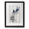Pingo World 'Shop Till You Drop' by Banksy Framed Graphic Art