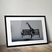 Pingo World 'Business Giraffe' by Banksy Framed Graphic Art