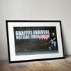 Pingo World 'Graffiti Removal Hotline' by Banksy Framed Graphic Art