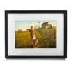 Pingo World 'Little House on The Prairie' by Banksy Framed Graphic Art