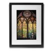 Pingo World 'Stained Glass Cathedral' by Banksy Framed Graphic Art