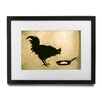 Pingo World 'Chicken and The Egg' by Banksy Framed Graphic Art