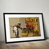 Pingo World 'Regent's Canal Mural' by Banksy Framed Graphic Art