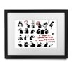 Pingo World 'Rats Collage' by Banksy Framed Graphic Art