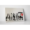 "Pingo World ""Irony for Sale"" by Banksy Painting Print on Wrapped Canvas"