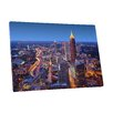 "Pingo World City Skylines ""Atlanta Georgia II"" Photographic Print on Wrapped Canvas"