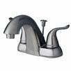 Builders Shoppe Centerset Bathroom Faucet Double Handle with Drain Assembly