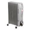Igenix Oil Filled 2,000 Watt Portable Electric Radiator Heater with 24H Timer