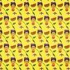 """Coordonne 12.21' x 106.3"""" Artist Kahlo Wallpaper"""