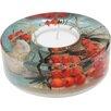 Dreamlight Teelichthalter Sanddorn Küste aus Glas
