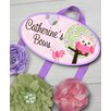 Toad and Lily Owl Personalized Hair Bow Holder