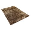 Vercai Rugs Brilliant Brown Area Rug