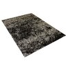 Vercai Rugs Brilliant Dark Grey Area Rug