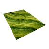 Vercai Rugs Step Up Green Area Rug