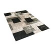 Vercai Rugs Shadow Black/Grey Area Rug