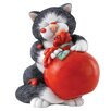 Enesco Comic and Curious Cats Sauce Figurine