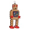 Enesco Saint John High Wheel Robot Figurine
