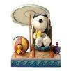Enesco Peanuts Beach Buddies (Snoopy and Woodstock) Figurine