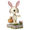 Enesco Peanuts Happy Easter (Snoopy) Figurine