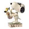 Enesco Peanuts The Blues Beagle (Joe Cool and Woodstock) Figurine