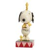Enesco Peanuts Love Is A Beagle Hug (Snoopy with Woodstocks) Figurine