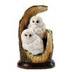Enesco BFA Studio Tawny Owlets Figurine