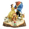 Enesco Disney Traditions Tale as Old as Time (Carved by Heart Beauty and The Beast) Figurine