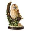 Enesco BFA Studio Tawny Owl with Mouse Scene Figurine