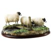 Enesco BFA Studio Blackfaced Ewes Figurine
