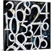 Canvas On Demand 'Numbers' by Erin Ashley Painting Print on Canvas