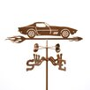 EZ Vane Inc C3 Corvette Weathervane with Deck Mount