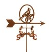 EZ Vane Inc Cardinal Weathervane with Post Mount