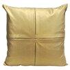 Artistic Linen 4-Square Decorative Metallic Throw Pillow