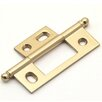 idh by St. Simons Solid Brass Non-Mortise Cabinet Hinge (Set of 2)