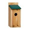 Bluebird 13 inch x 5.5 inch x 6.5 inch Bluebird House - 1000 West Inc Birdhouses
