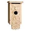 Father Time Carved 13 inch x 7 inch x 6 inch Birdhouse - 1000 West Inc Birdhouses