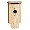 Owl Carved 13 inch x 7 inch x 6 inch Birdhouse - 1000 West Inc Birdhouses