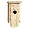 Mother Earth Carved 13 inch x 7 inch x 6 inch Birdhouse - 1000 West Inc Birdhouses