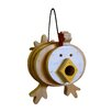 Chicken Stacked 9 inch x 9 inch x 7 inch Birdhouse - 1000 West Inc Birdhouses