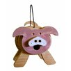 Pig Stacked 9 inch x 9 inch x 8 inch Birdhouse - 1000 West Inc Birdhouses