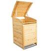 Habau 124 x 81 cm Mülltonnenbox aus Holz