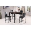 Best Quality Furniture 5 Piece Counter Height Dining Set