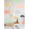 The Lovely Wall Company Geo Clouds Wall Decal