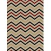 Rugs of Dalton Trendy Times Ivory Area Rug